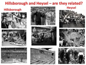 hillsborough and Heysel
