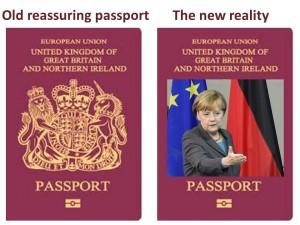 passport Merkel