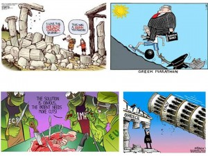 greece cartoons