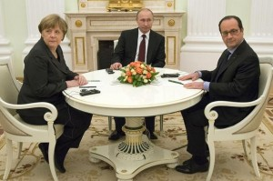 merkel putin and hollande