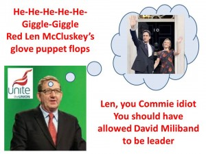 Miliband and Mccluskey