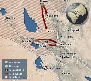 isil to attack baghdad