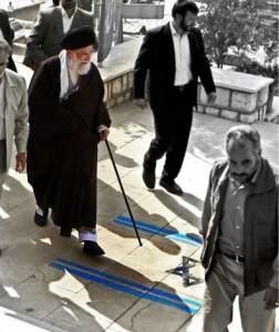 Khamenei-Israeli-flag-252x300
