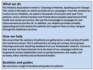 patients association