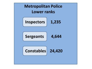 met police lower ranks