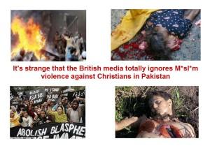Pakistan violence against Christians