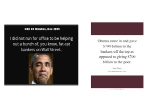 obama and bankers