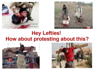 lefty protests